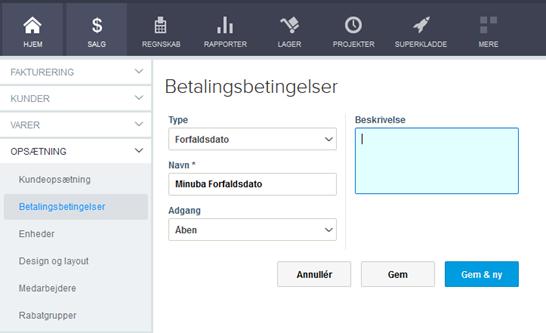Integration mellem E-conomic og Minuba