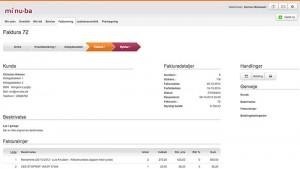 Brug elektronisk ordre- og sagsstyring til at lave dine fakturaer