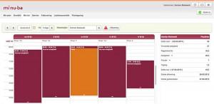 Visning af din tid og planllgning med elektronisk ordre- og sagsstyring