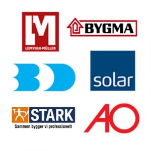Grossister som integrerer med Minuba, Solar, AO, BD