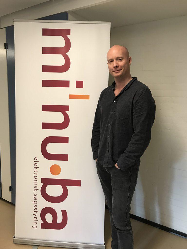 Peter Tving ny medarbejder i Minuba