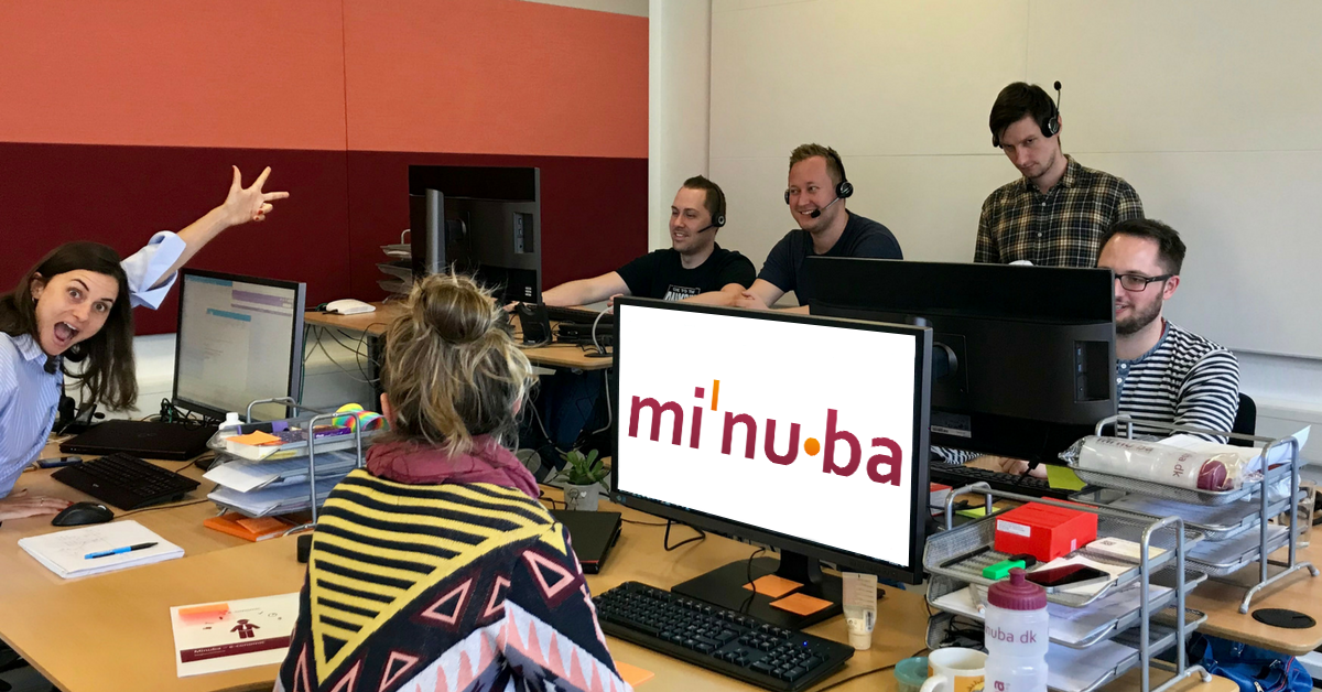 Minubas supportteam