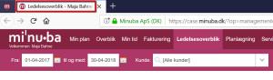 Ctrl+klik - Nyt vindue
