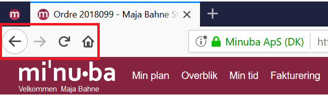 Gode tips til Minuba: Nem navigation i browser