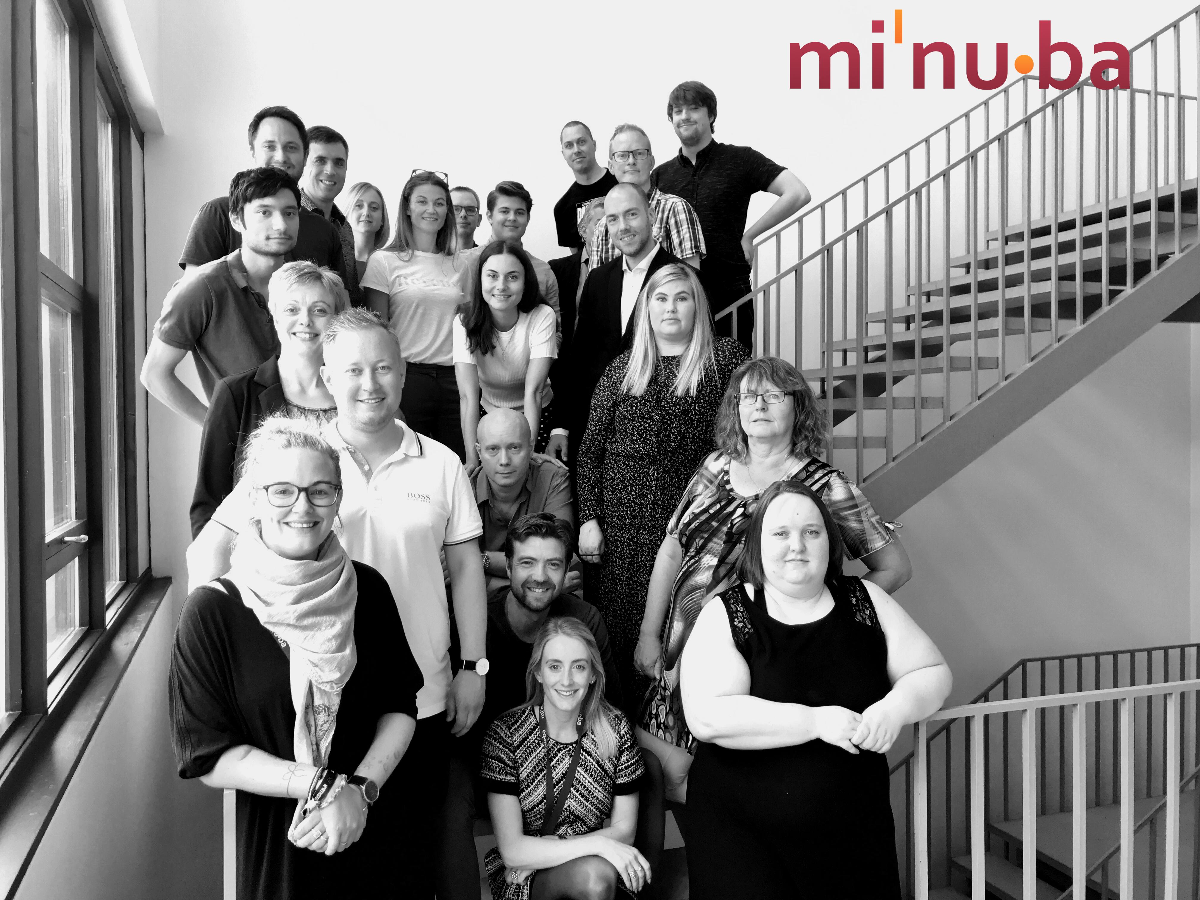 Team Minuba gruppebillede
