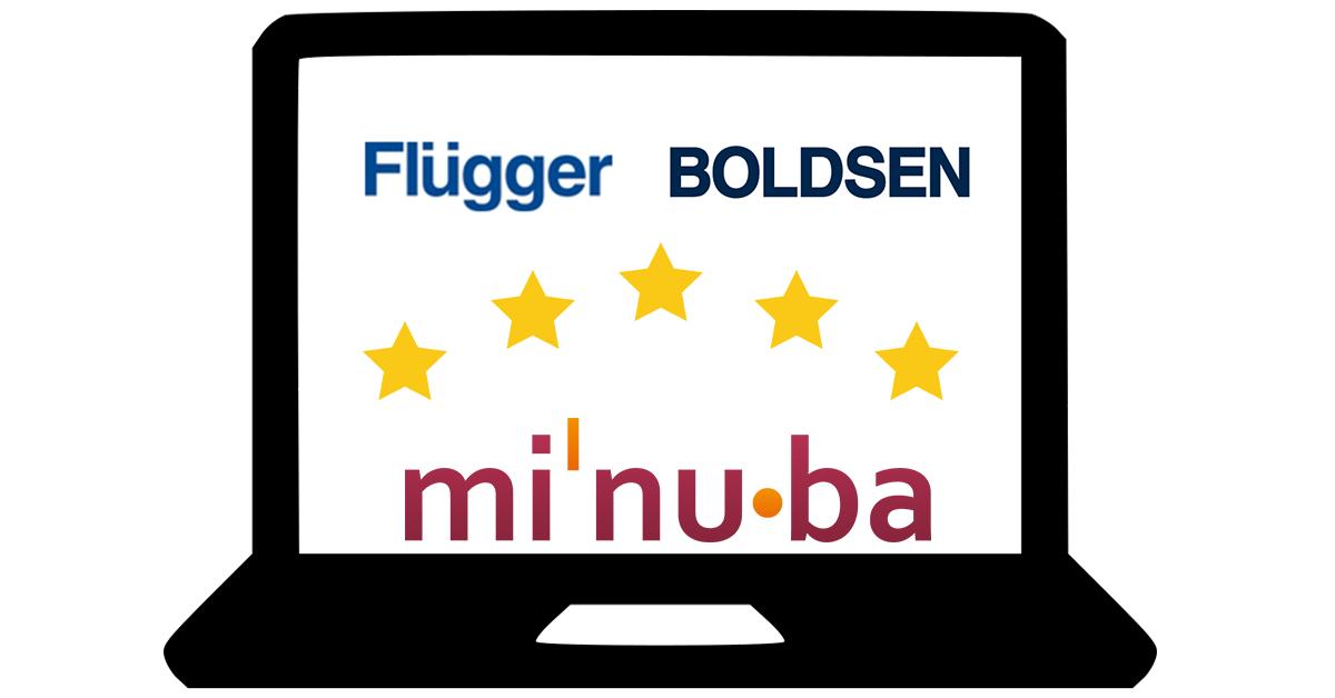 Nye grossister i Minuba, Flügger og Boldsen