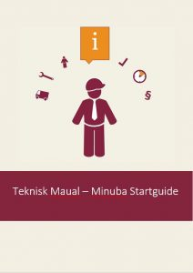 Startguide manual Minuba