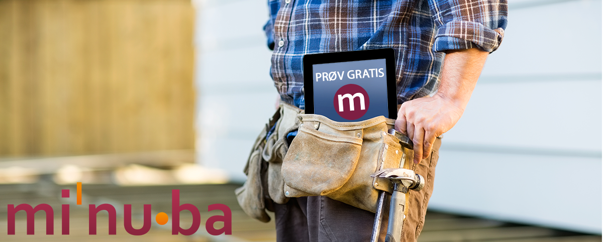 Prøv gratis i 30 dage - Minuba
