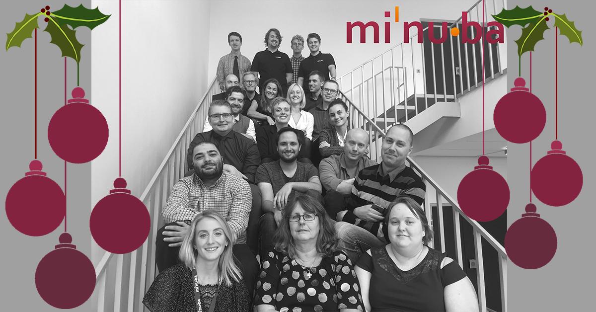 Team Minuba jul og nytår