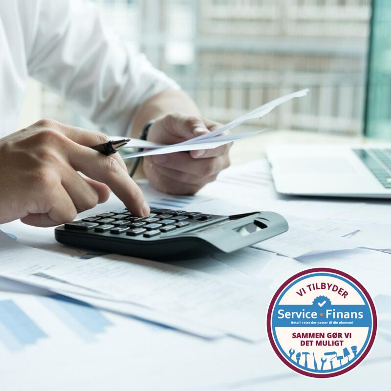 Service Finans giver dine kunder lånemuligheder