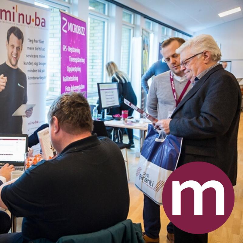 Minuba deltager i Dansk Byggeris IT Messe
