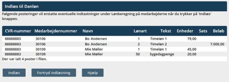 Danløn integration: Lønnummer / medarbejdernummer