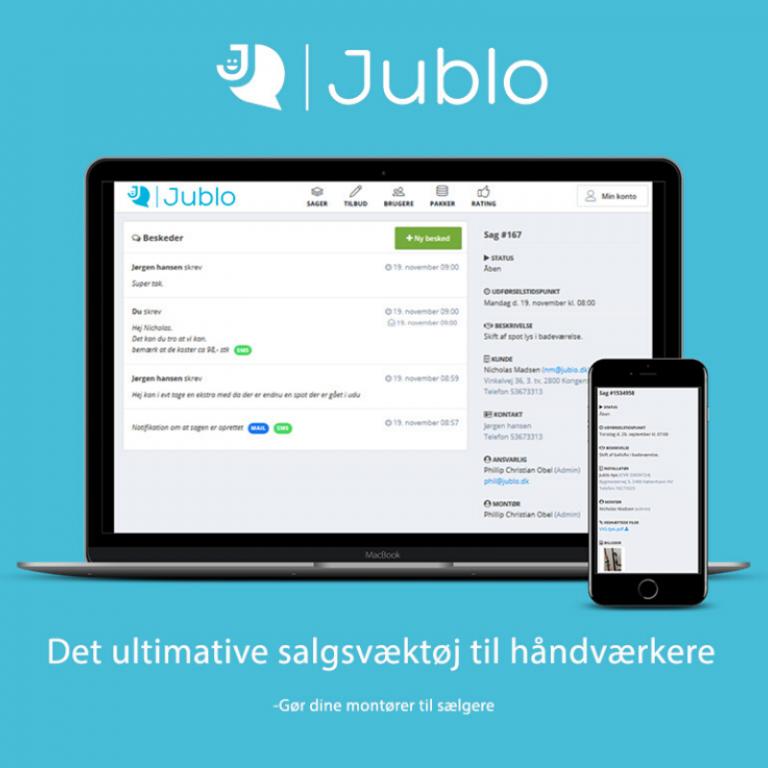 Med Jublo bliver kundekommunikation nemt
